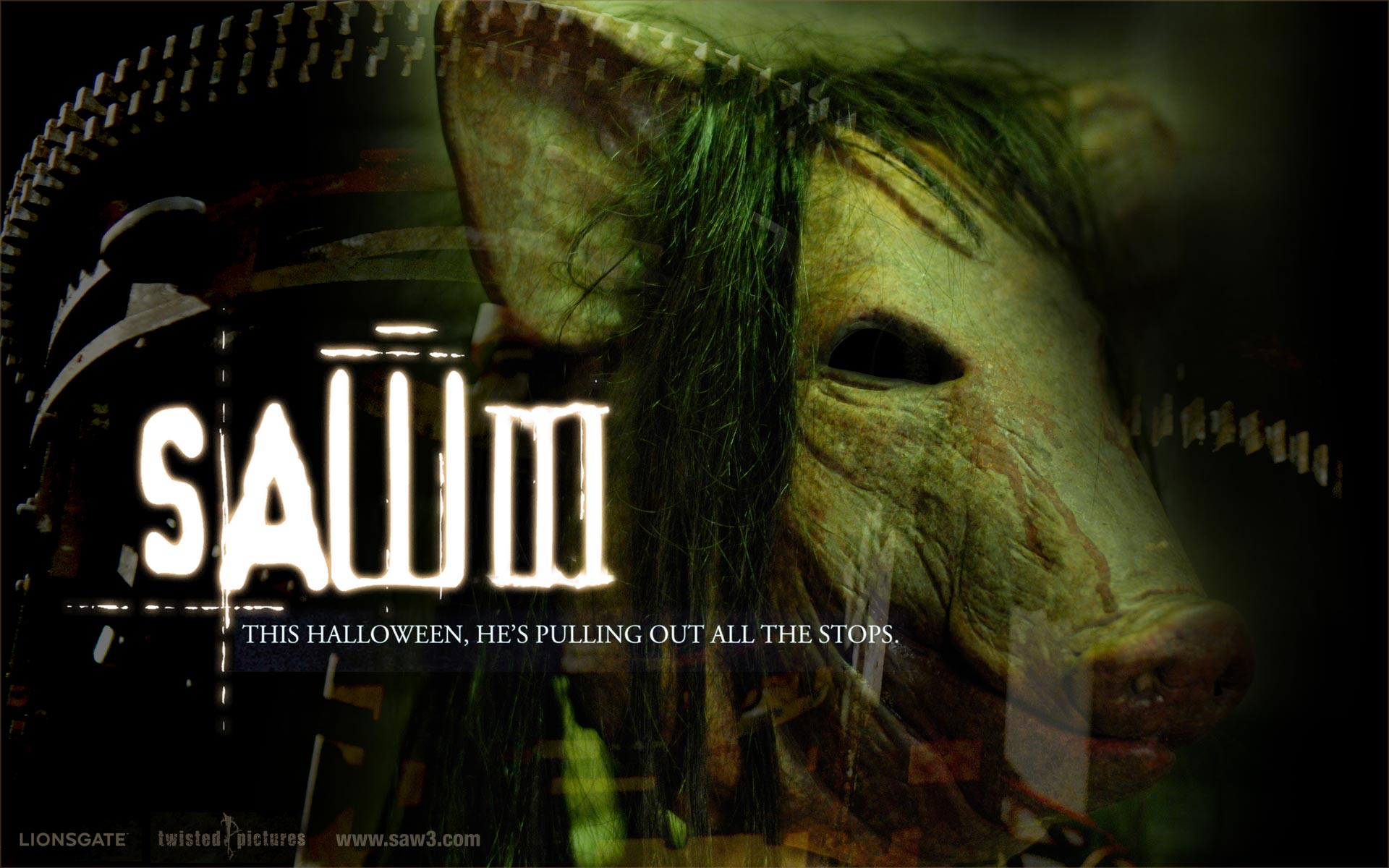Horror Film Saw III 2006 1920x1200 NO4 Desktop Wallpaper 1920x1200