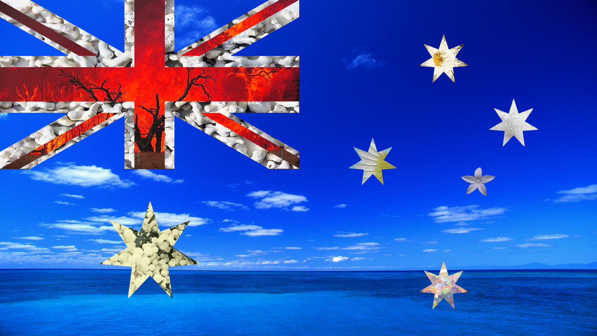 LATEST WALLPAPERS 3D WALLPAPERS AMAZING WALLPAPERS Australia flag 1191x670