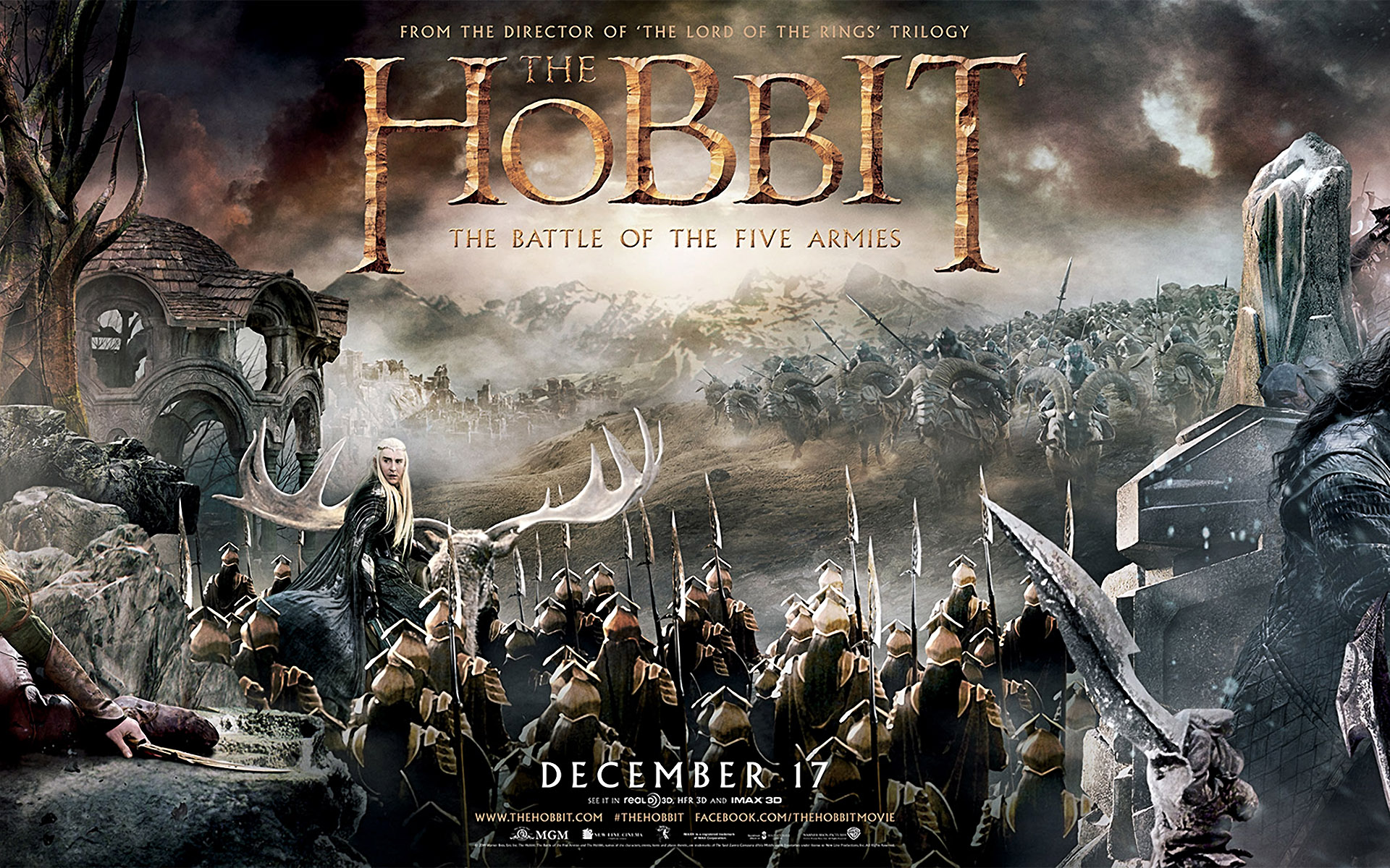 the hobbit battle five 1 the hobbit battle five 2 the hobbit battle 1920x1200
