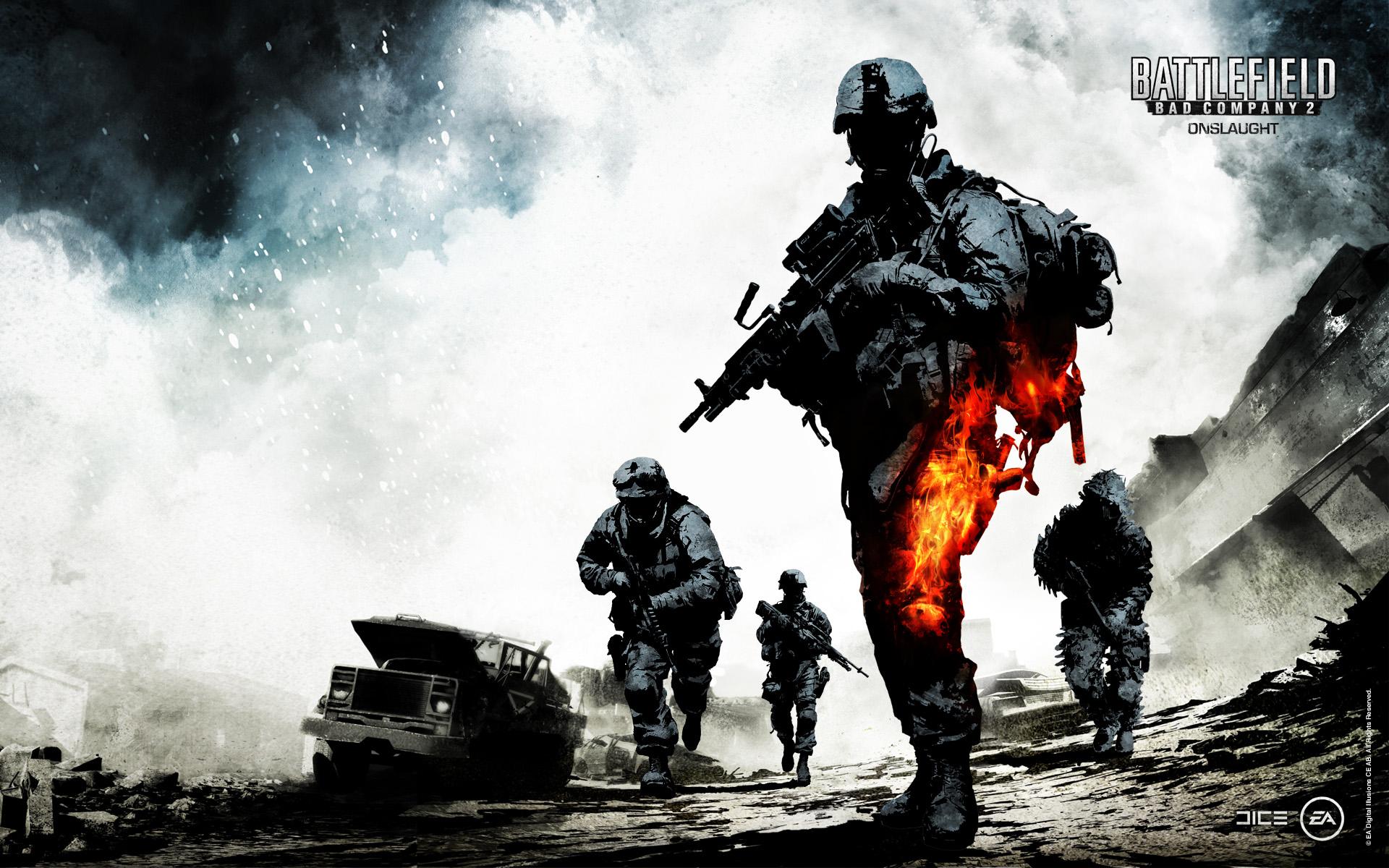 Battlefield 4K Wallpaper