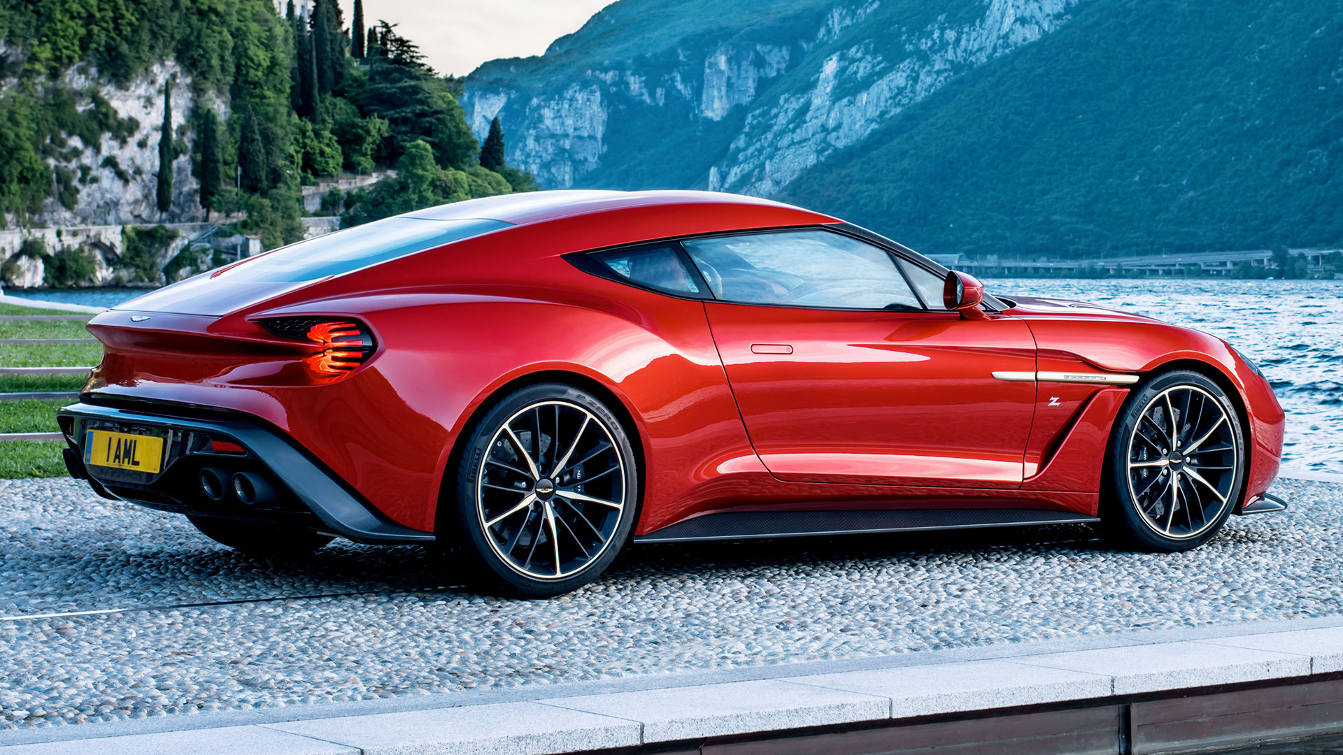 2016 Aston Martin Vanquish Zagato   Wallpapers and HD Images Car 1920x1080