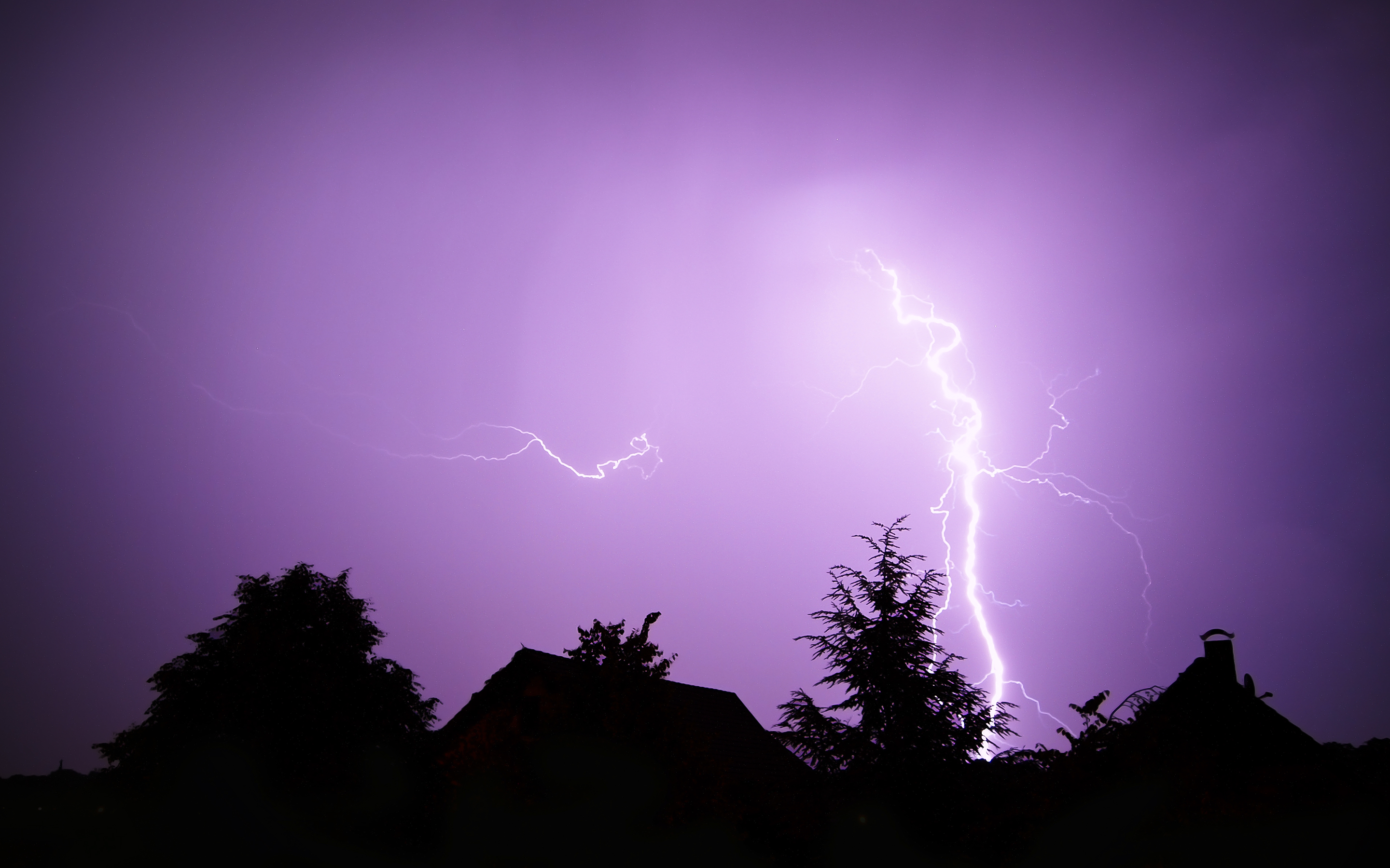 Lightning Storm Wallpapers HD Wallpapers 2880x1800