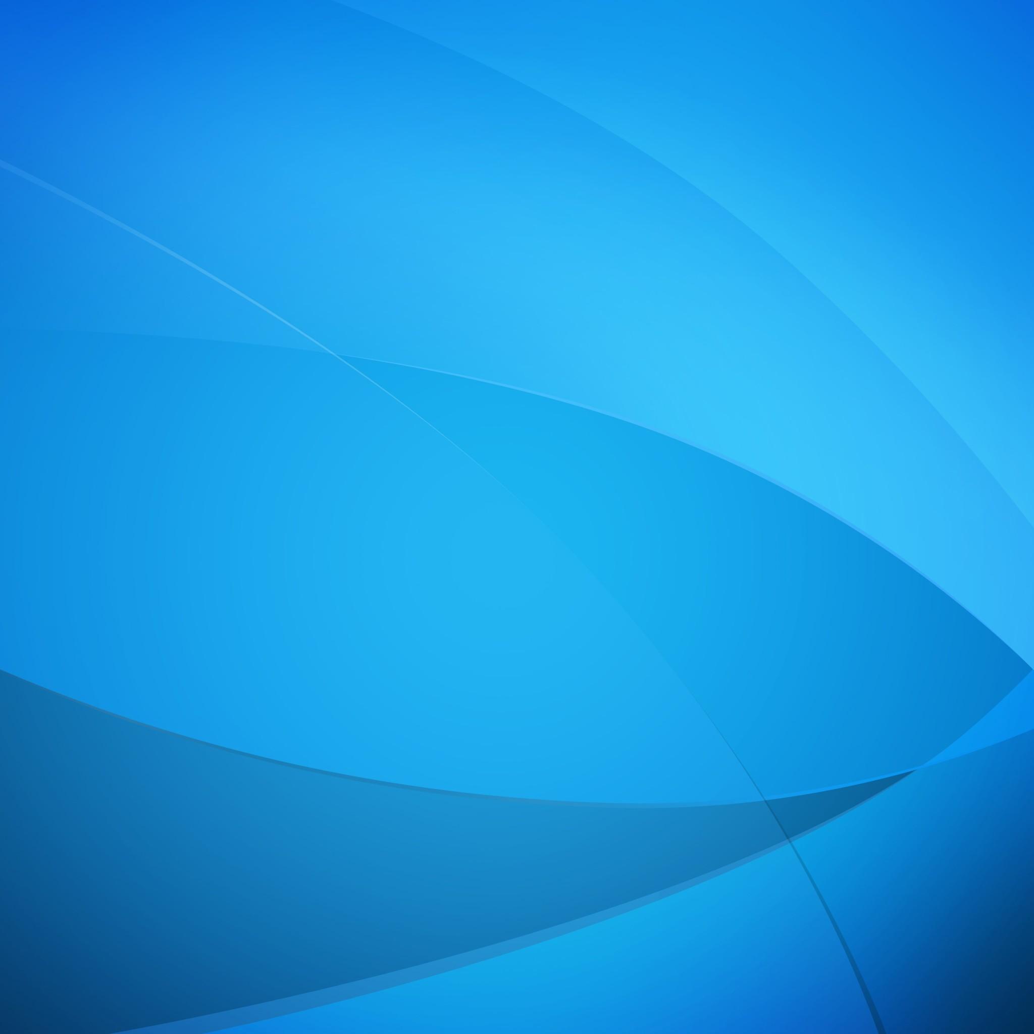 Blue Color wallpaper 2048x2048