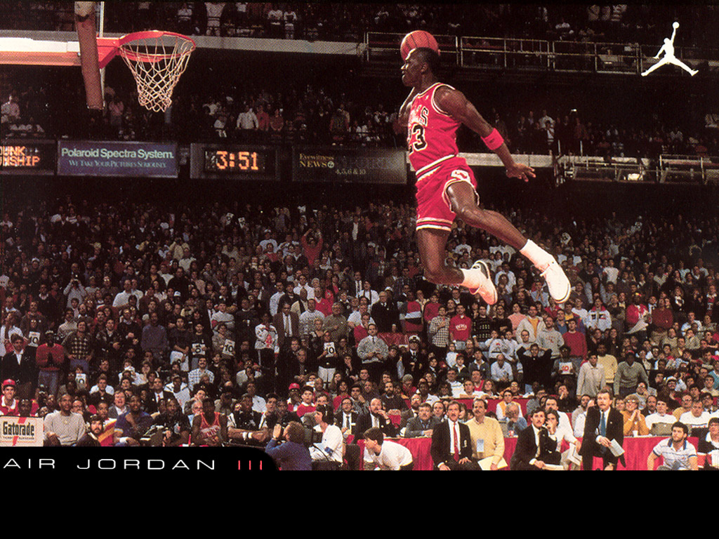 Michael Jordan Dunk HD Wallpaper Sports Wallpapers 1024x768