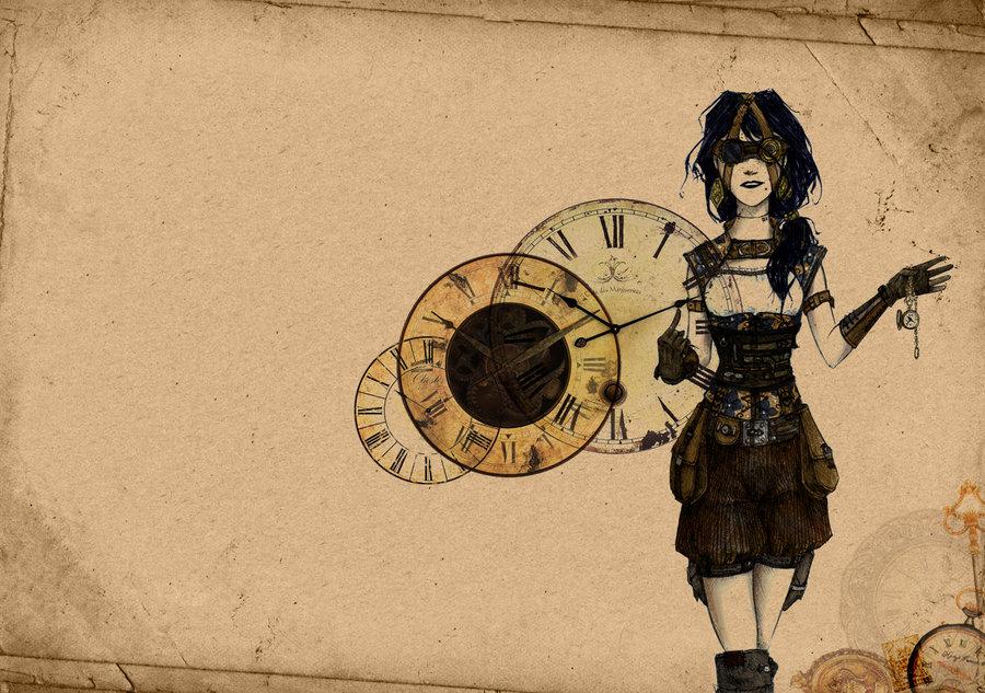 Steampunk Girl Wallpaper 900x633