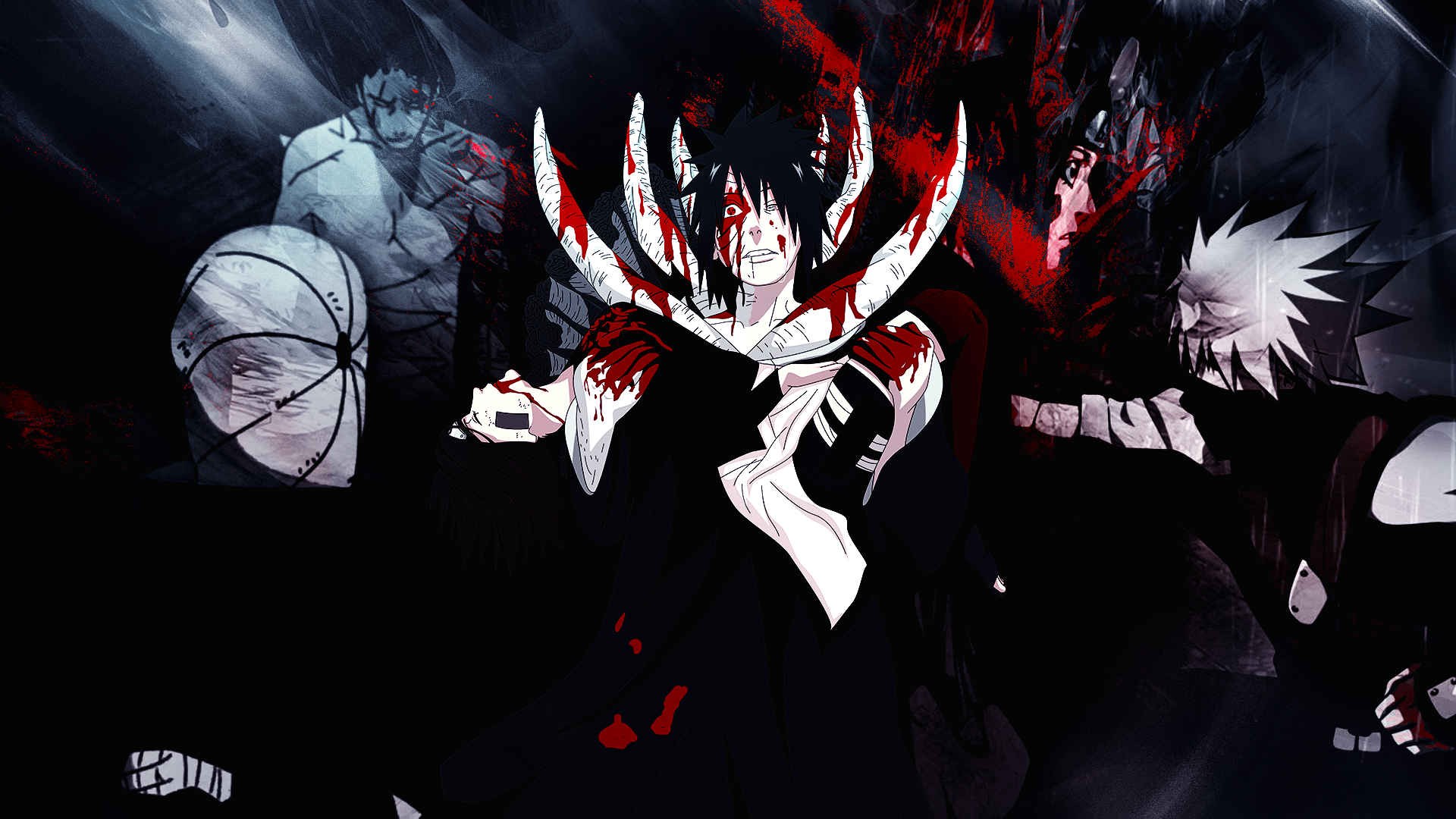 Obito y Rin Wallpaper by Gramcyyy 1920x1080