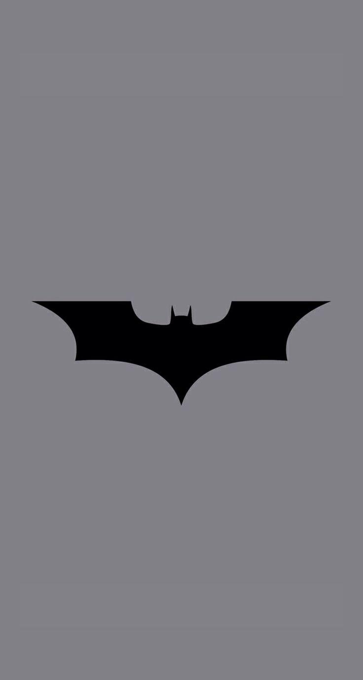 Batman logo wallpaper iPhone 5 Wallpapers Pinterest 736x1377