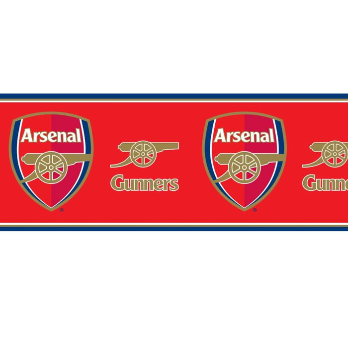 Arsenal wallpaper border for every fans bedroom at Childrens Rooms 700x700