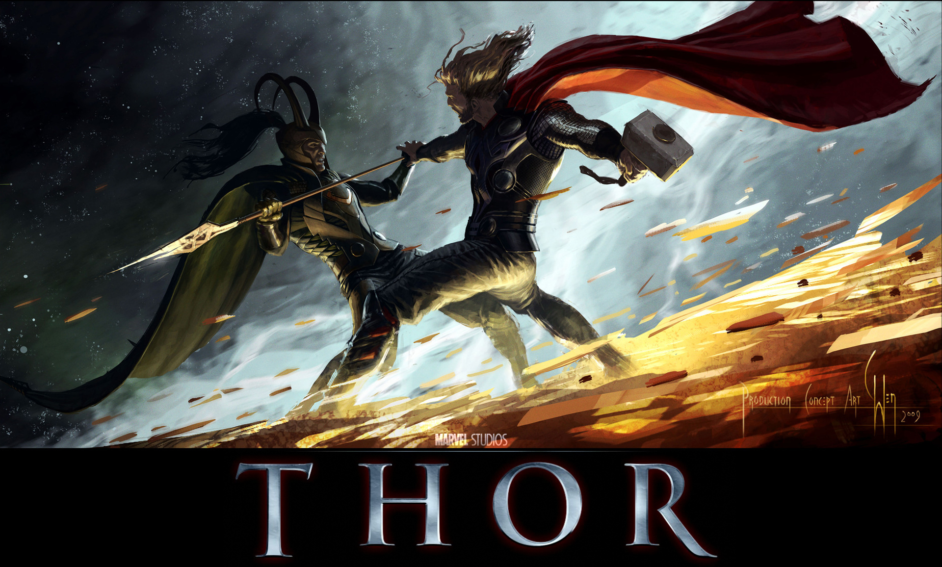 Thor The Movie 2011 Wallpapers Movie Wallpapers 1920x1156