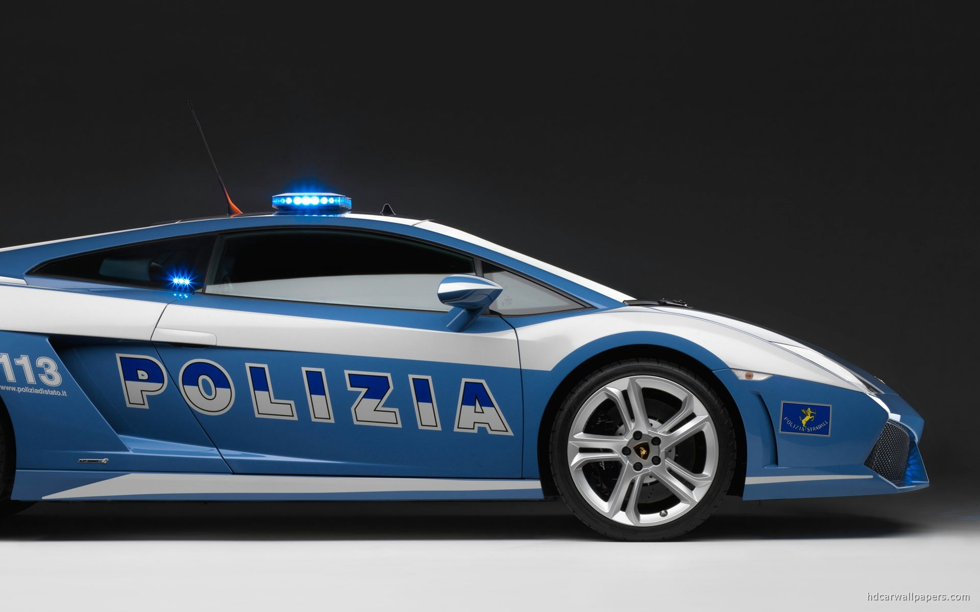 lamborghini car police wallpaper wallpapers 1920x1200