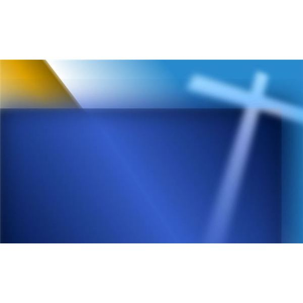 Blue Background with White Cross Background 600x600