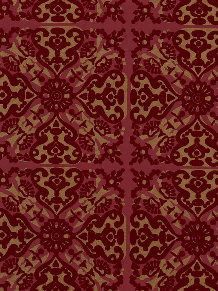 wallcoverings wallpapers walls flock velvet wallpaper burgundy flock 720x960