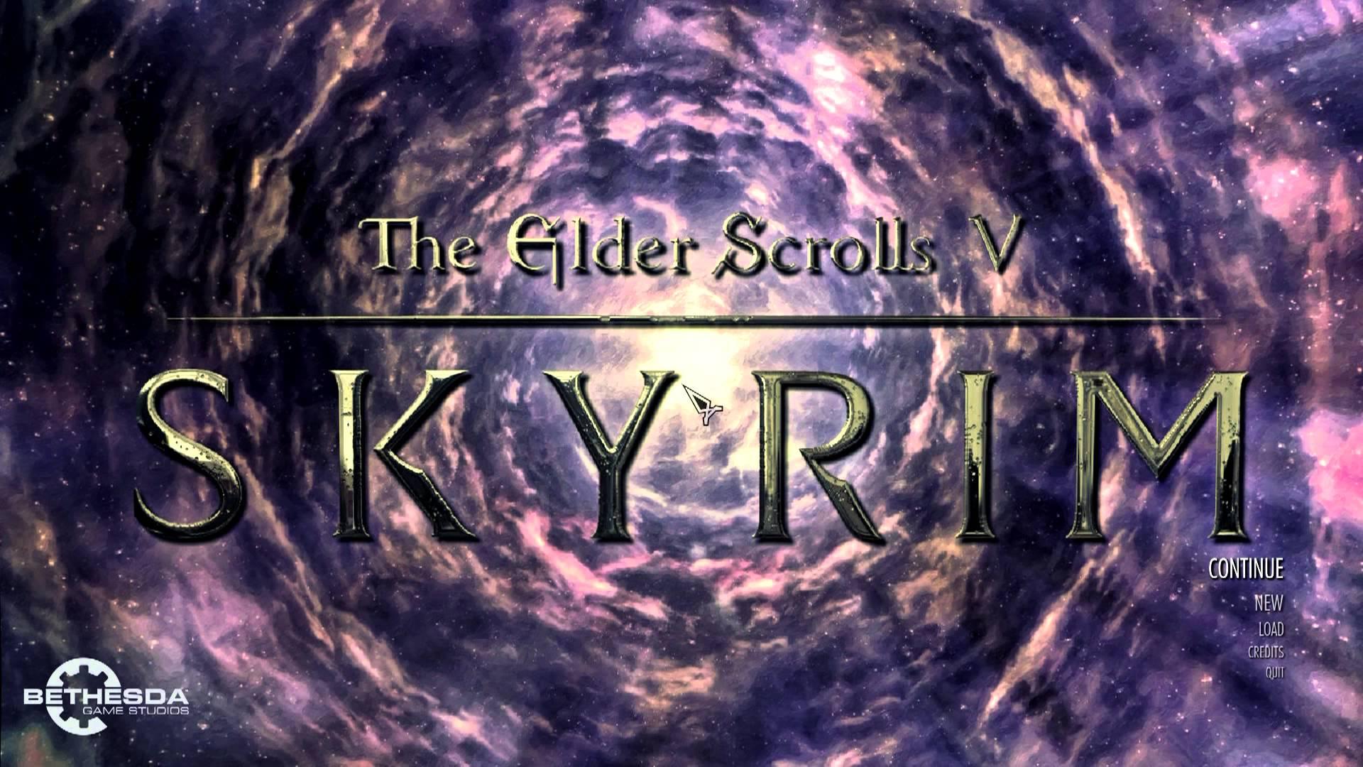 Free Download Skyrim Custom Main Menu Background Sovngarde