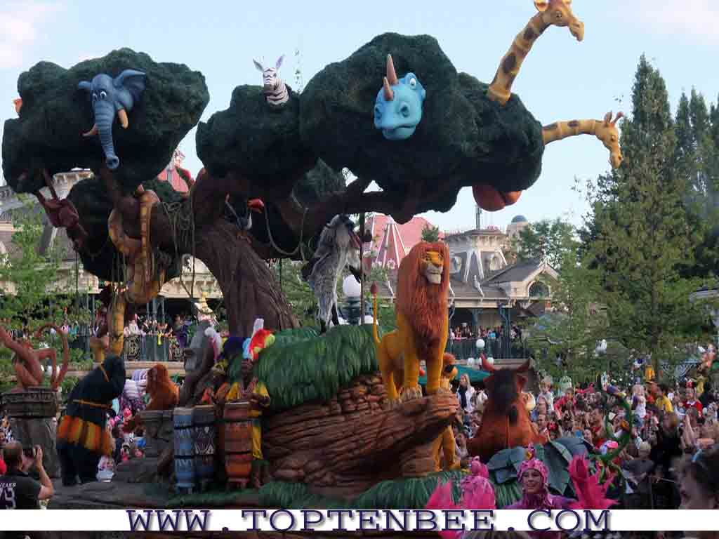 owned by The Walt Disney Company The theme of Disneyland park 1024x768