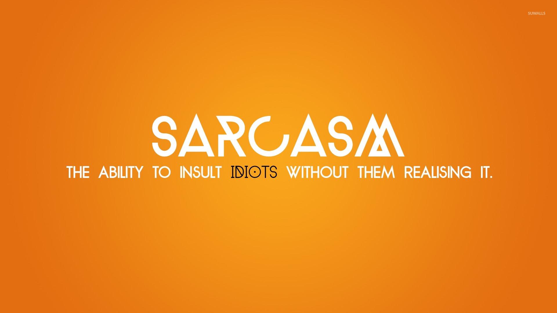 sarcastic 1366x768