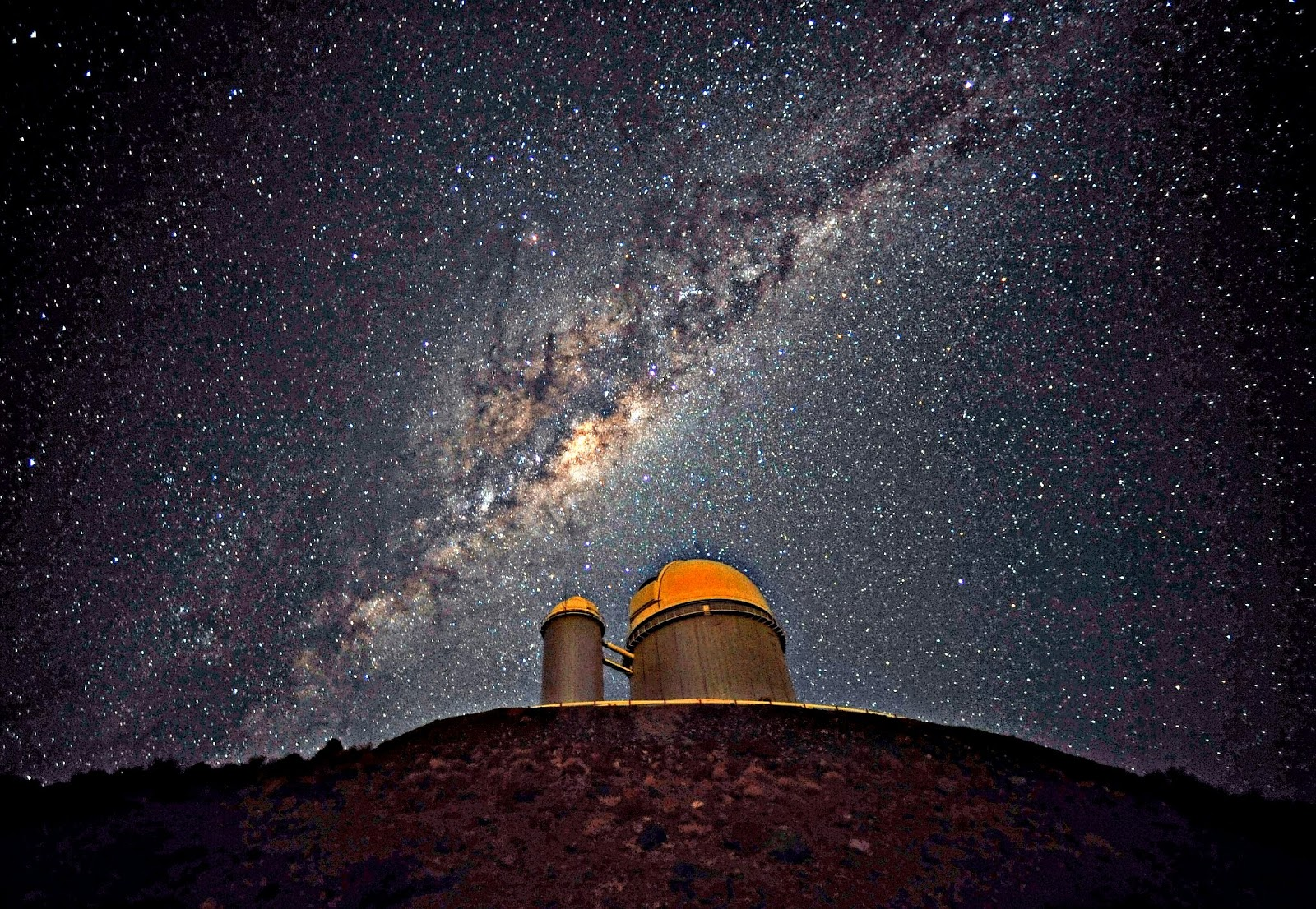 Milky Way from Earth Wallpaper - WallpaperSafari