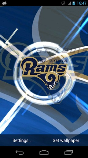 View Bigger St Louis Rams Live Wallpaper For Android Screenshot 288x512