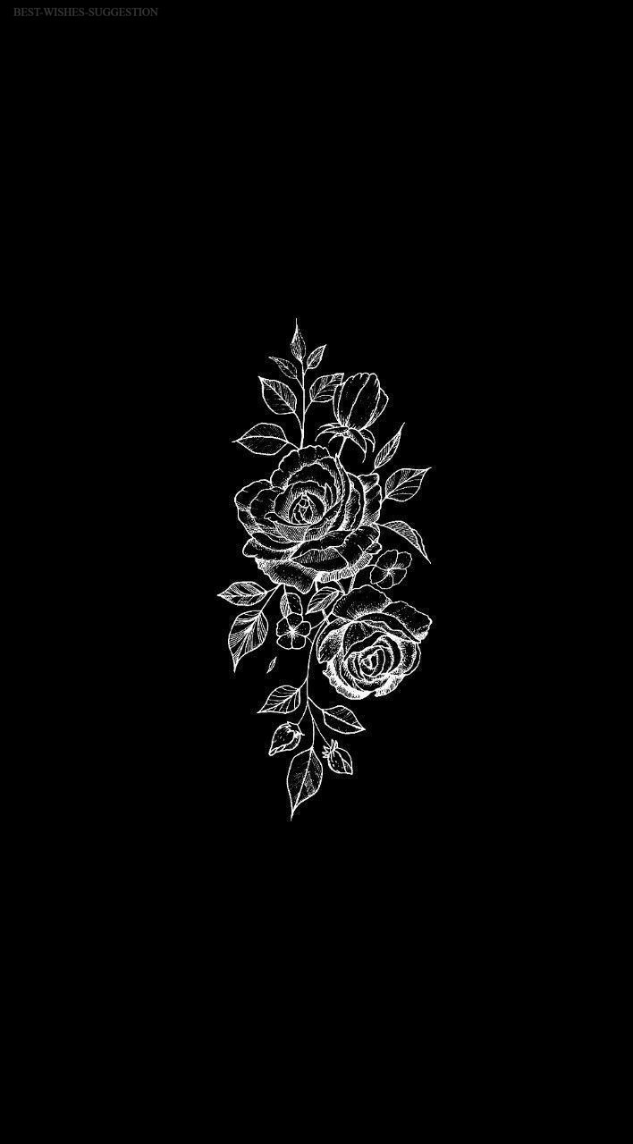 Aesthetic Black And White Edgy Wallpaper Tumblr Background Image 708x1280
