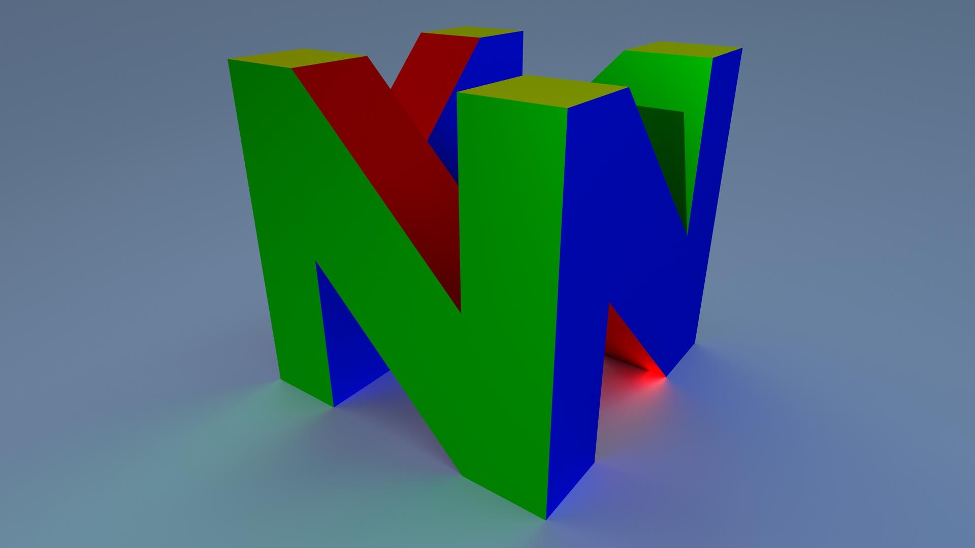 n64 logo hd wallpaper - HD1920×1080