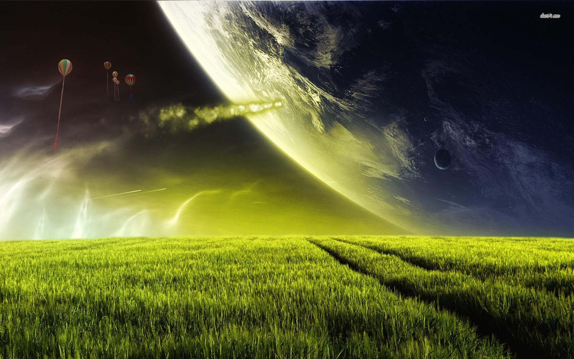 Alien Planet Wallpaper - WallpaperSafari