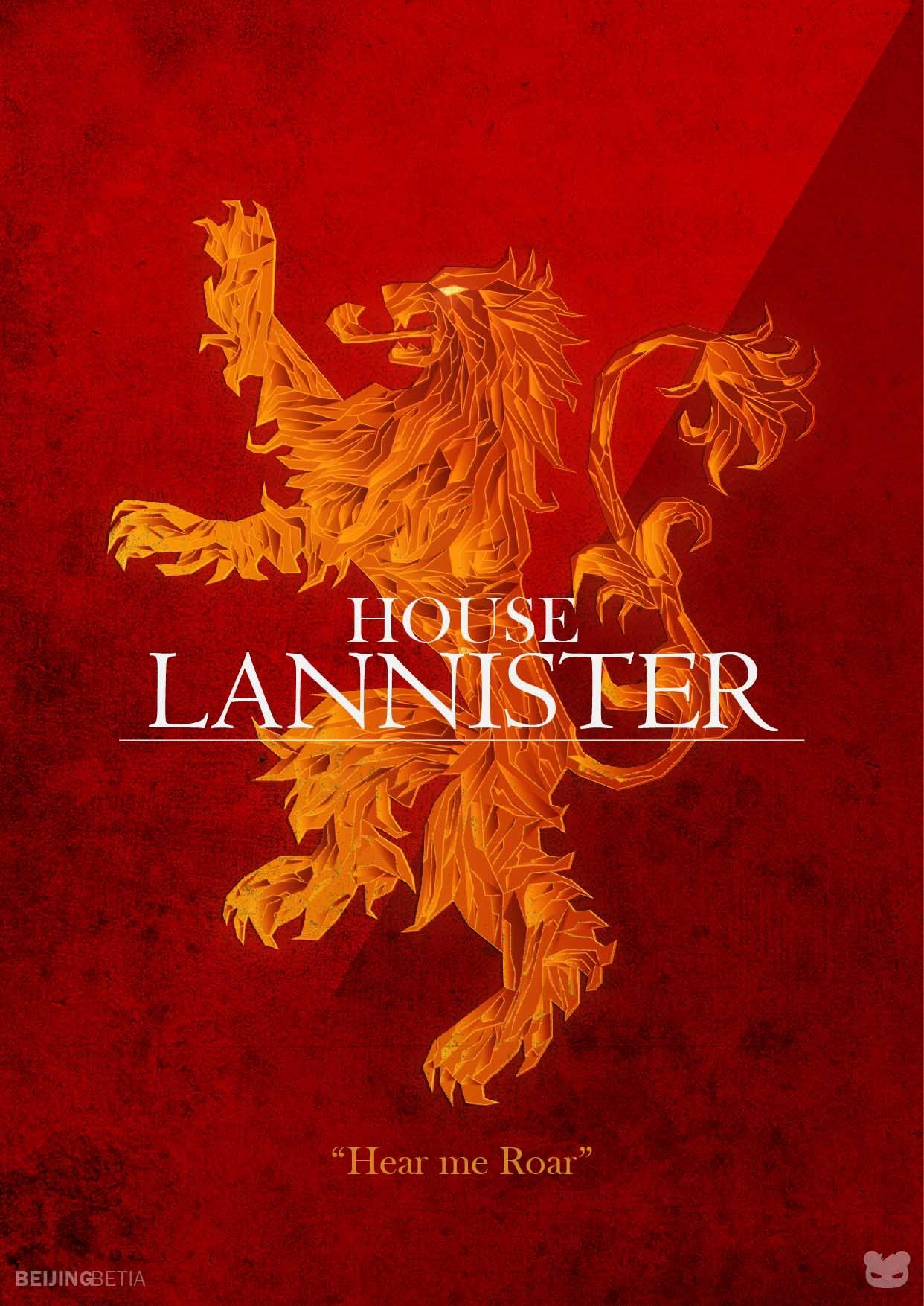 house lannister sigil wallpaper wallpapersafari. Black Bedroom Furniture Sets. Home Design Ideas