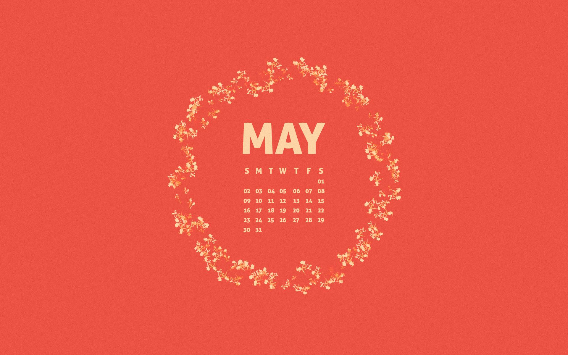 Click to download the May 2010 Desktop Calendar Wallpaper in 1920X1200 1920x1200