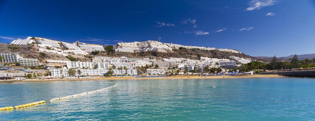 Free Download Playa De Puerto Rico Isla De Gran Canaria