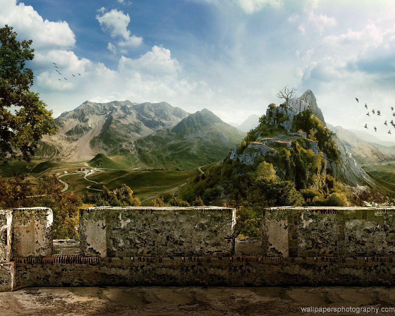 Historical Places Wallpapers Travel Print Poster 1280x1024