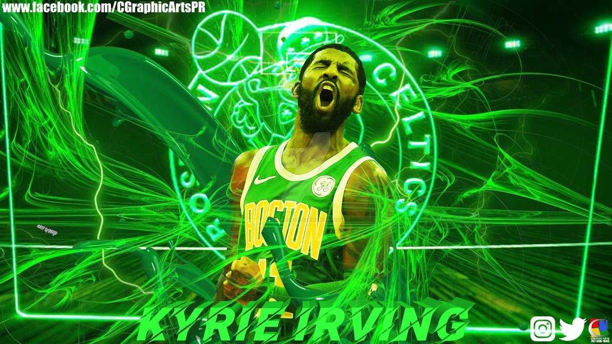 Free Download Boston Celtics Kyrie Irving Wallpaper By Cgraphicarts 1192x670 For Your Desktop Mobile Tablet Explore 20 Kyrie Irving Boston Celtics Wallpapers Kyrie Irving Boston Celtics Wallpapers Celtics Kyrie