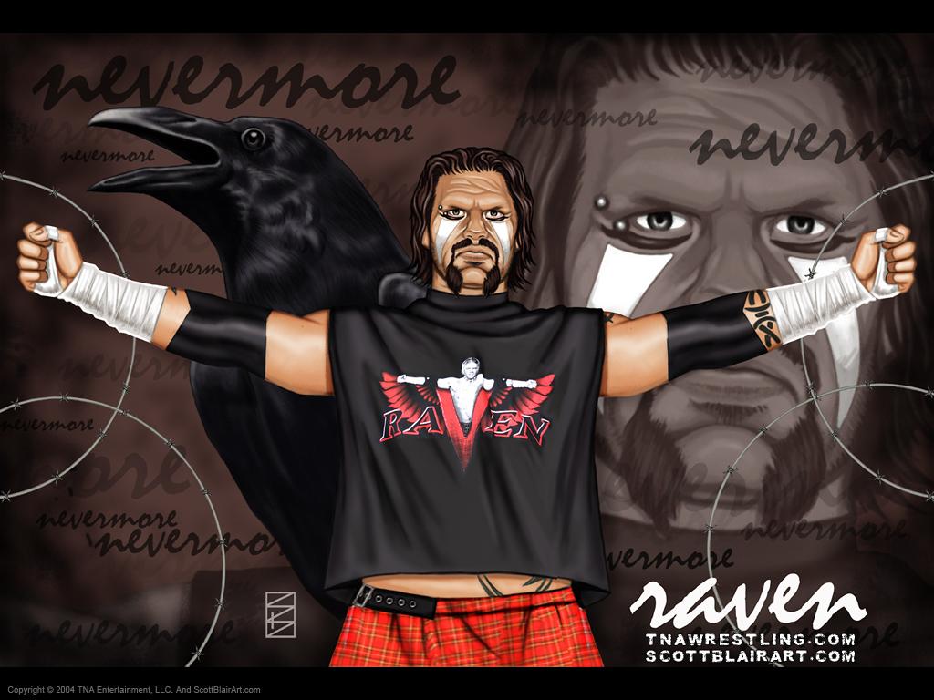 Raven   Professional Wrestling Wallpaper 123455 1024x768