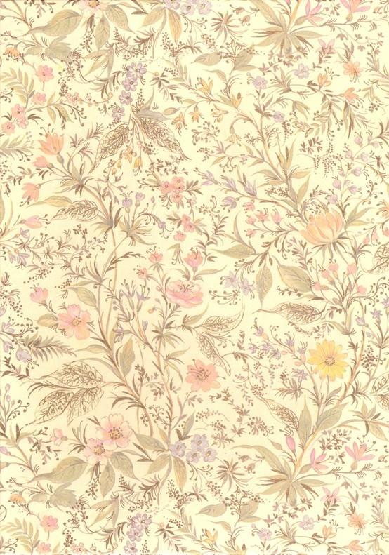 Vintage flower pattern wallpaper backgrounds Pinterest 554x791