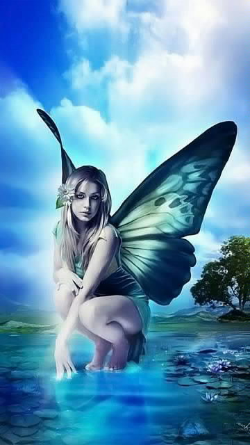 wallpaper beautiful fairy download wallpapers for your 360x640