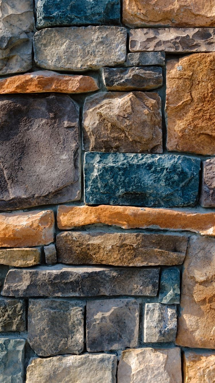 Decorative Stone Cladding iPhone 8 Wallpapers Download 1080x1920