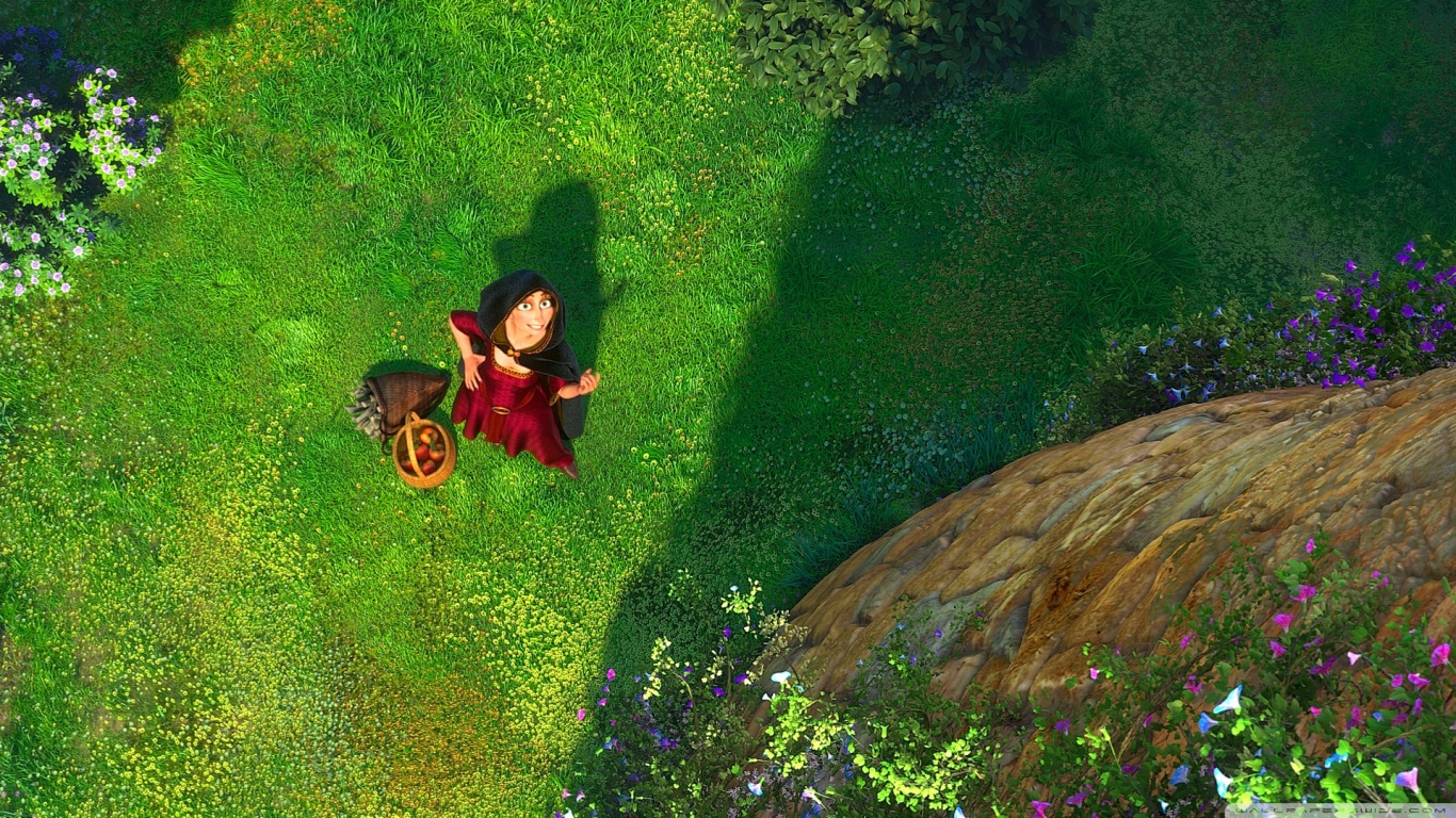 Tangled Movie Rapunzel Movie HD Wallpapers HD Wallpapers Depot Pro 1366x768