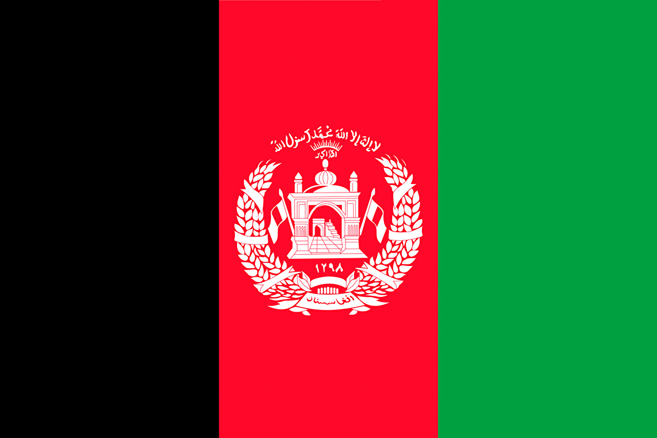 Wallpaper Afghanistan Flag Stripes 1280x853