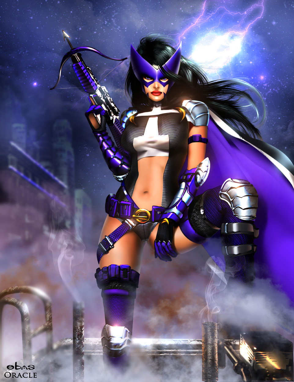 Huntress by Mystic Oracle 962x1250