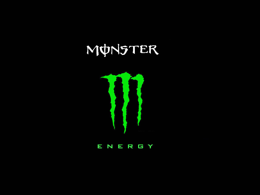 Monster Logo Wallpaper 6522 Hd Wallpapers 1024x768