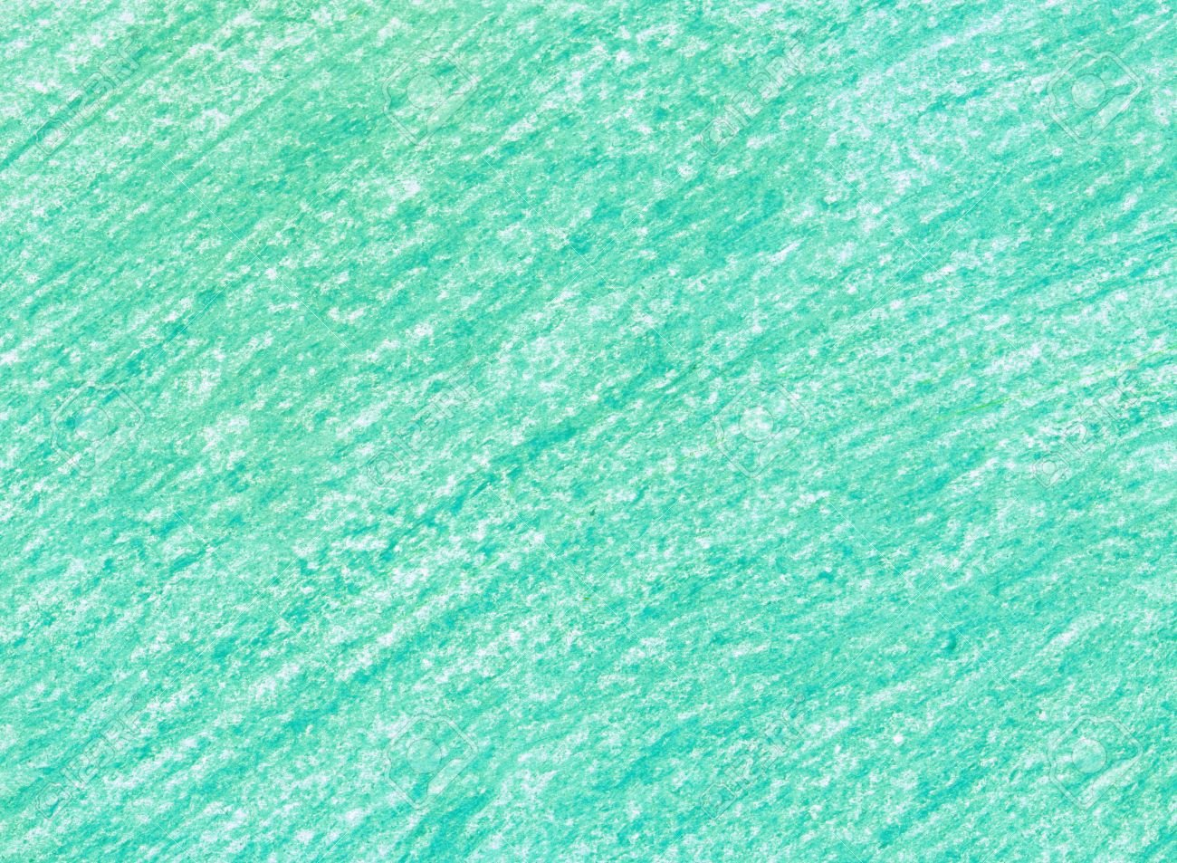 Crayon Scribble Emerald Background Blue Green Pastel Crayon 1300x953