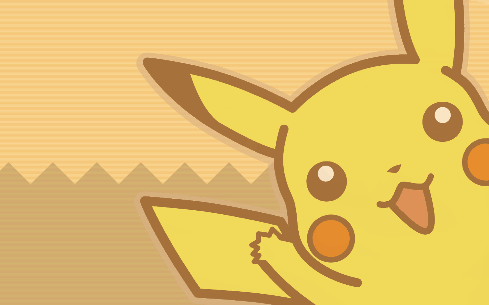 Pokemon Pikachu Wallpaper 1680x1050 Pokemon Pikachu Vector 1680x1050