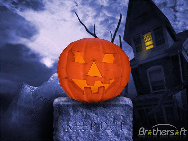 Pumpkin 3D Screensaver Halloween Pumpkin 3D Screensaver 14539 640x480