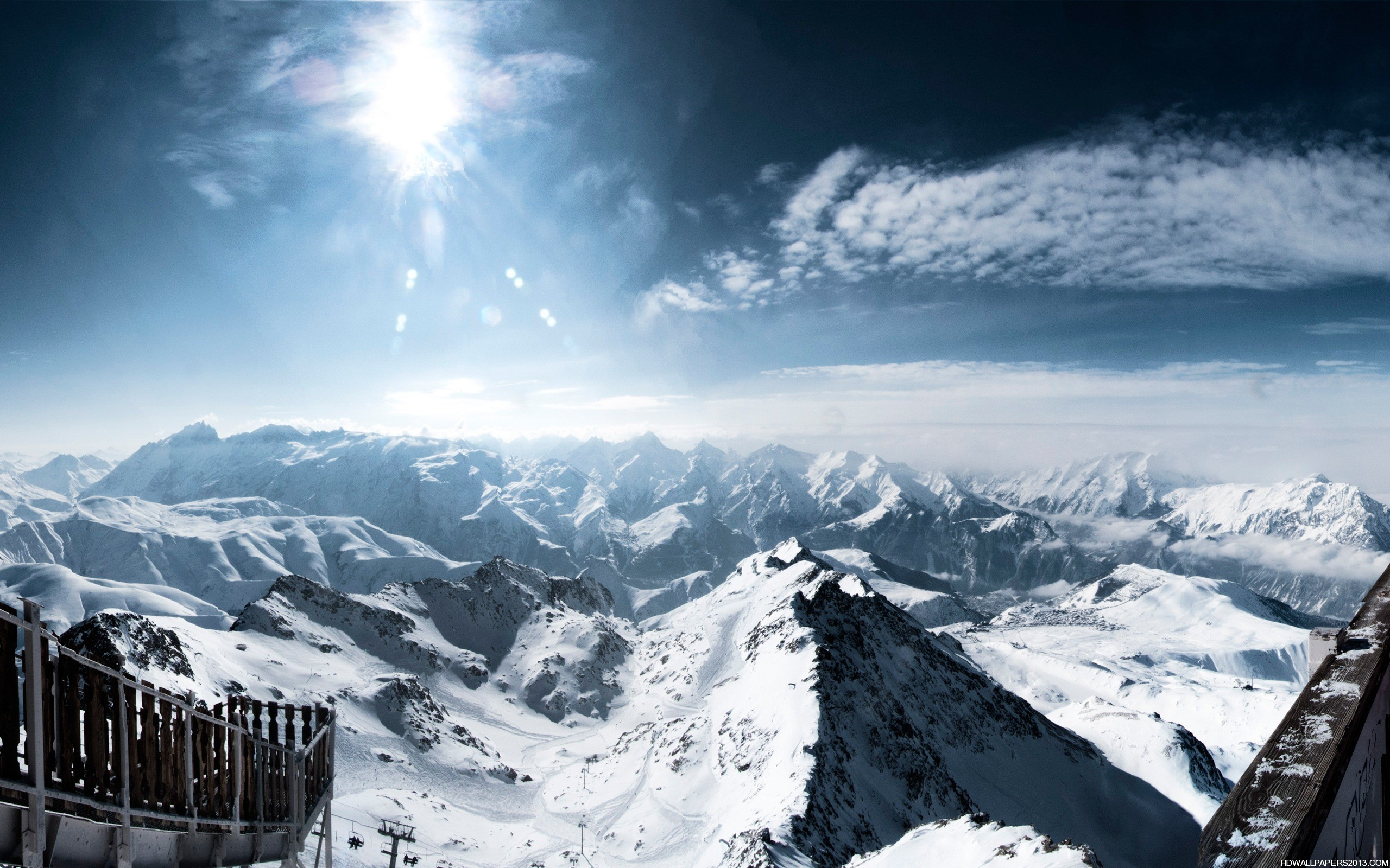 Mountain Snow Wallpapers HD Wallpapers Mountain Snow Wallpapers 2560x1600