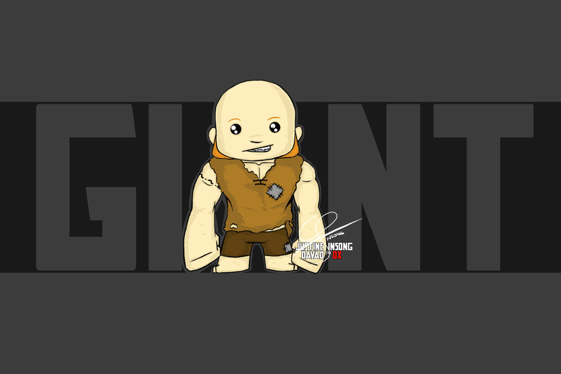 Clash of Clans Giant by boylovesgirl21 1095x730
