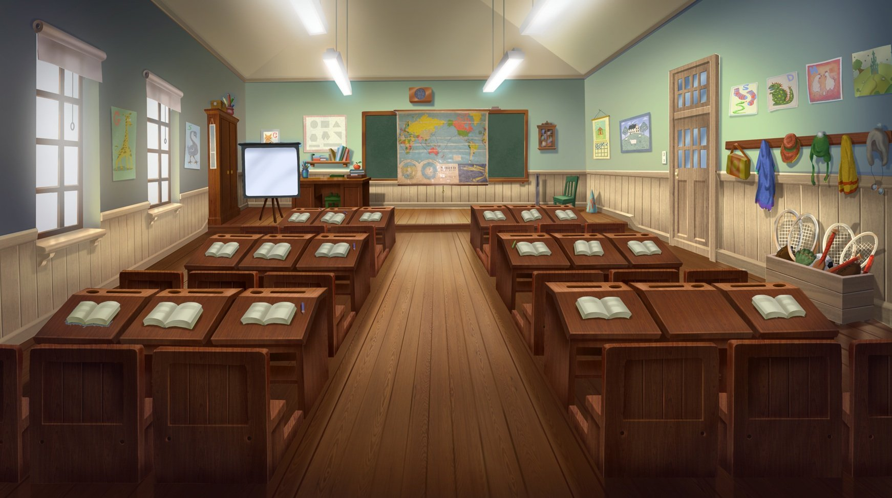 Empty cartoon classroom background - Little Johnny Jokes Little Johnny Little Johnny The Movie Little