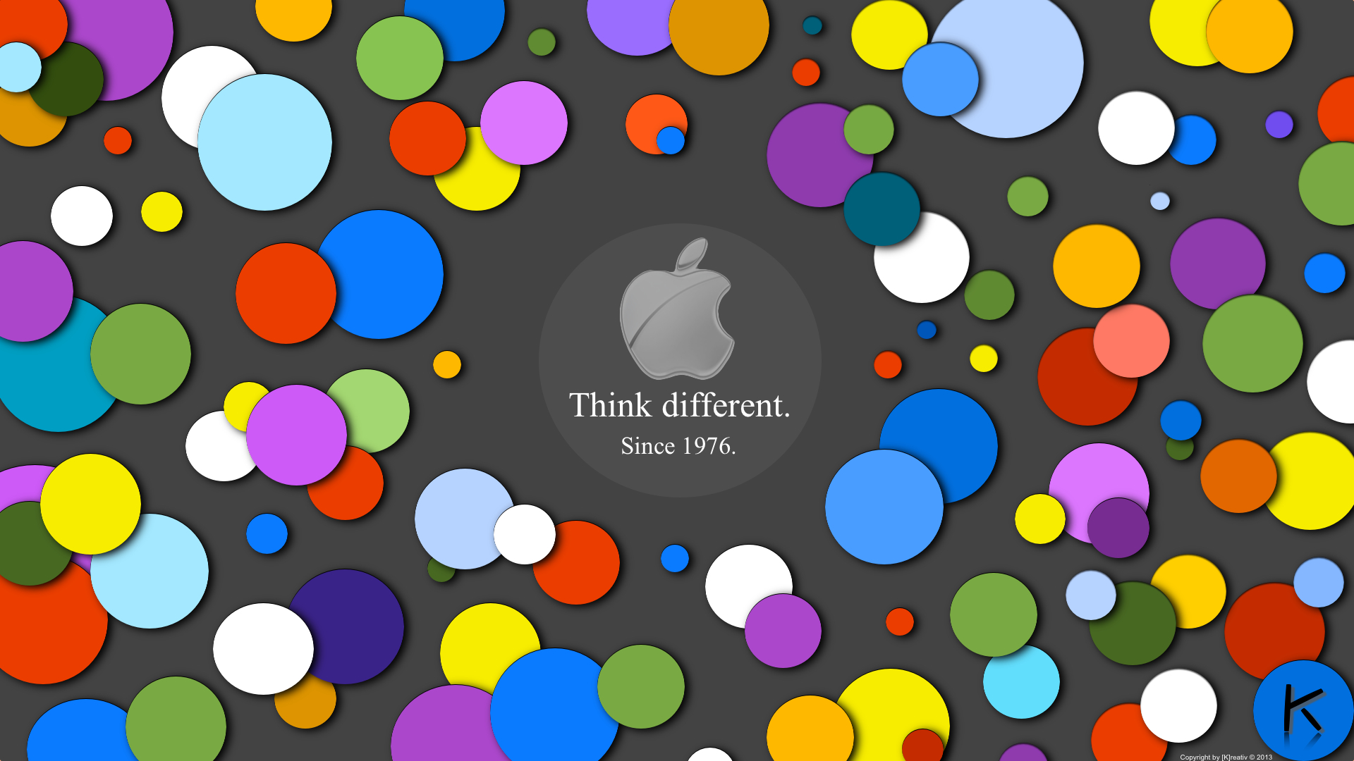 think different wallpaper wallpapersafari