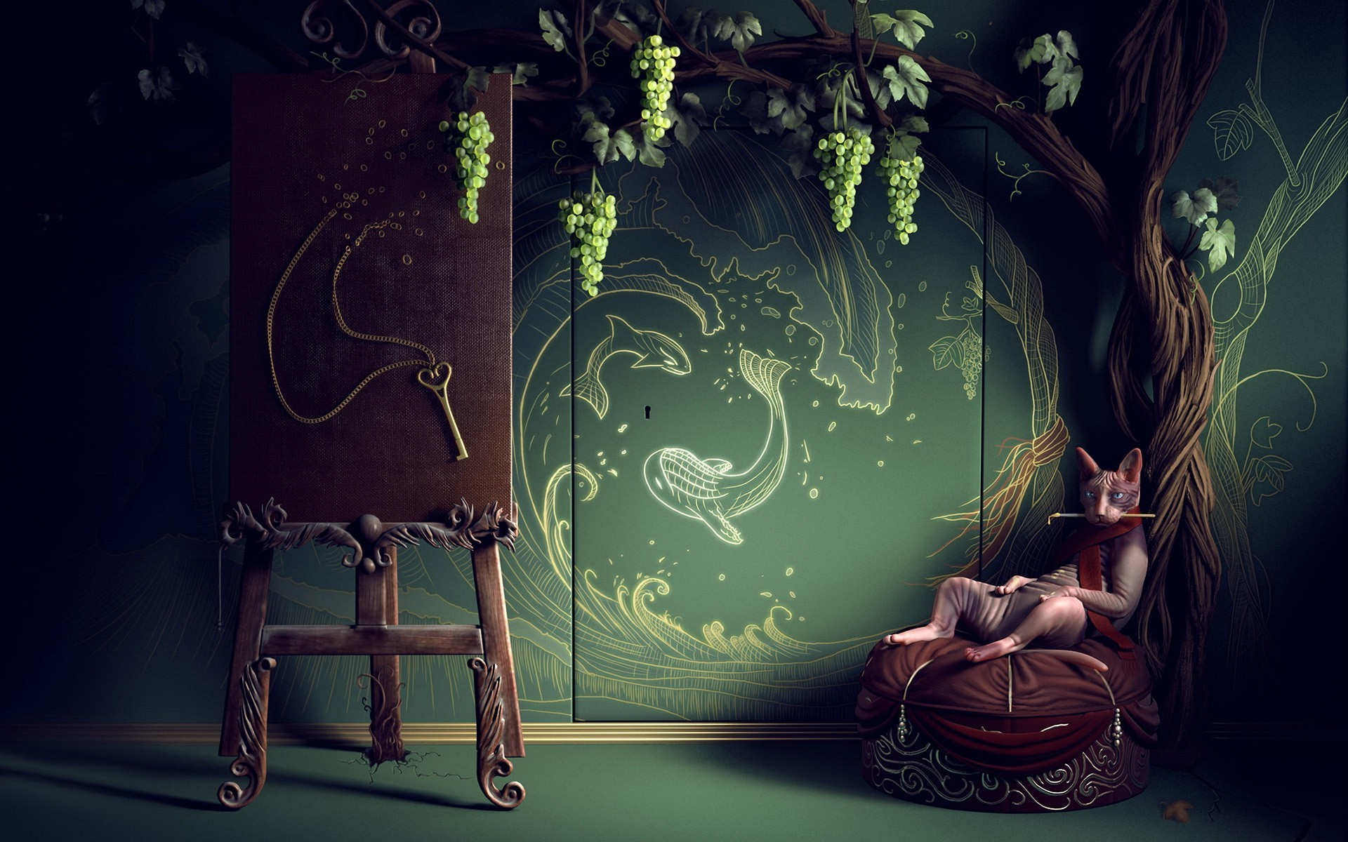 Bohemian Wallpaper Art - WallpaperSafari