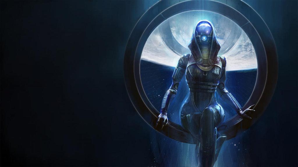49 Mass Effect Wallpaper Tali On Wallpapersafari