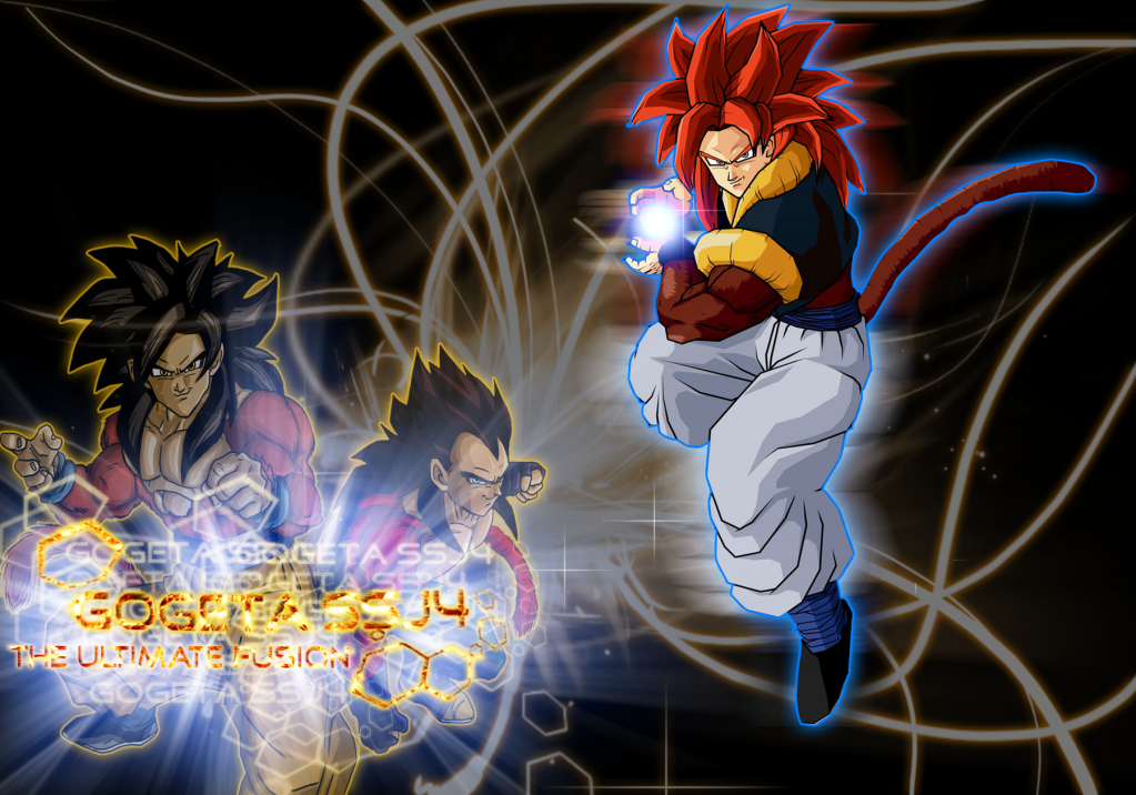 DRAGON BALL Z WALLPAPERS Gogeta Super Saiyan 4 1023x716