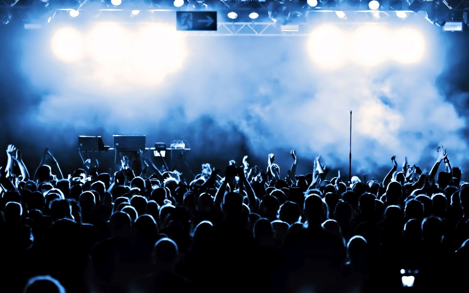Music Concert Noise HD Wallpaper 1600x1000