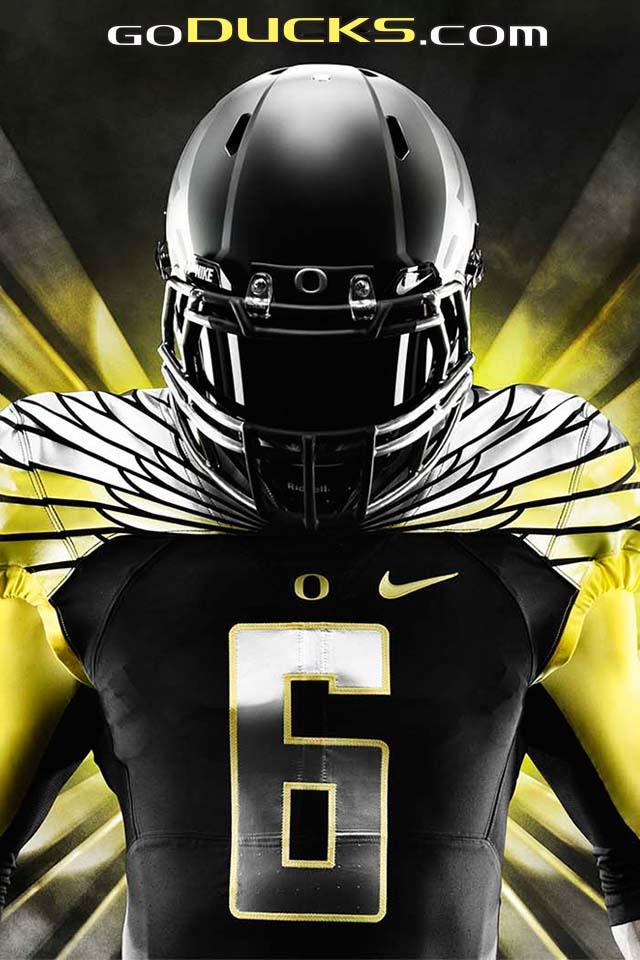 Oregon Ducks Wings Wallpaper Oregon official athletics 640x960