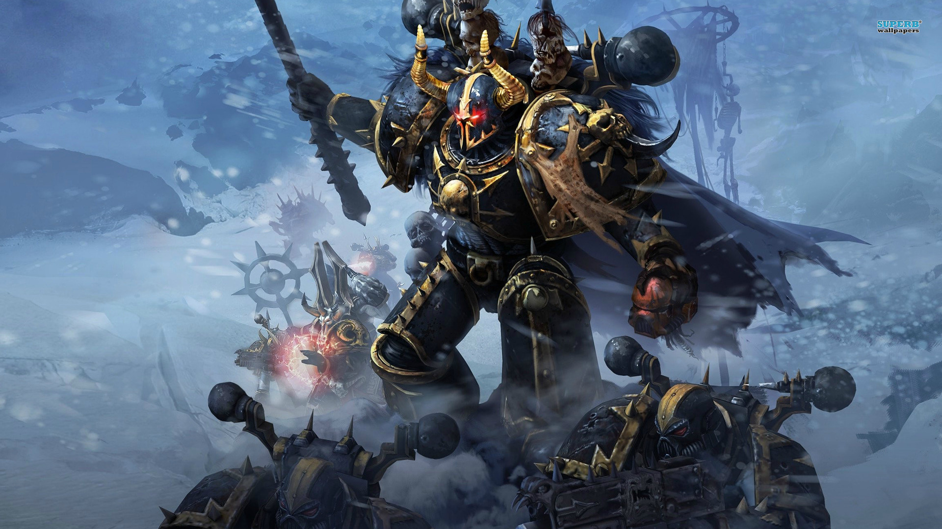 Chaos Space Marine Wallpaper - WallpaperSafari